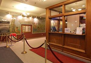 lobby, Aurora Theatre