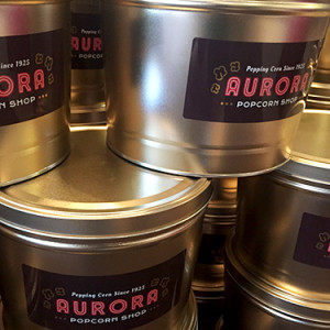 Aurora Gold Tin