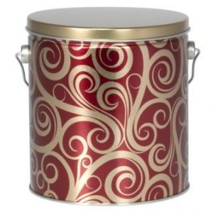 Red and Gold Swirl