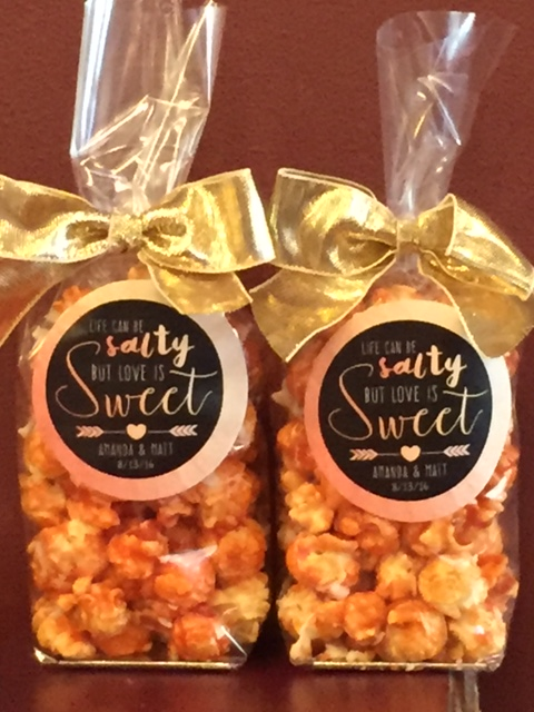 Gourmet Popcorn, Wedding Favors, Give Aways, Gifts, Custom ...