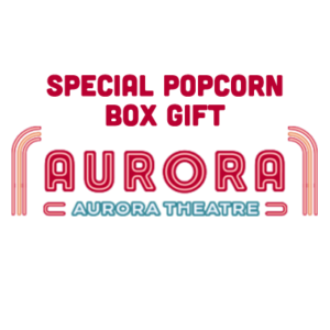Popcorn Box filled with Movie Candy, The Aurora Theatre, East Aurora, NY